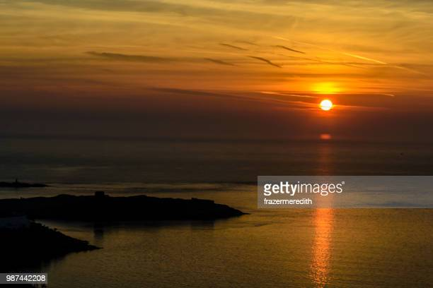 dalkey island dawn - dalkey stock pictures, royalty-free photos & images
