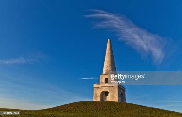 dalkey obelisk - dalkey stock pictures, royalty-free photos & images