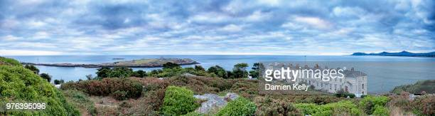 dalkey sorrento pano - dalkey stock pictures, royalty-free photos & images