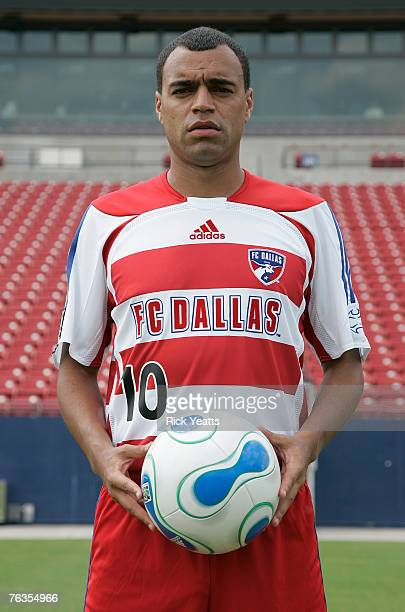 Dallas announced the signing of Brazilian World Cup winner Denilson as the team's Designated Player on August 27 2007 in Frisco Texas