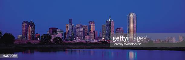 dallas at dusk picture