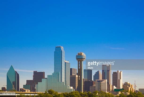 Ville skyline panorama de la ville de Dallas, Texas