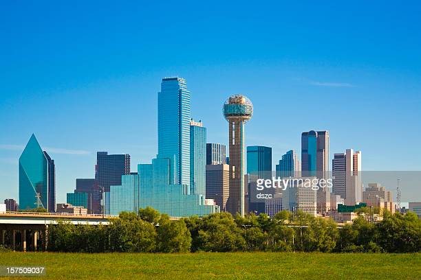 Dallas city skyline, Texas