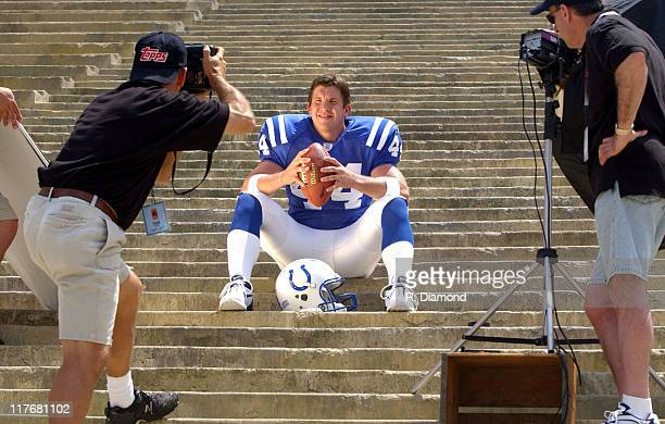 Dallas Clark Colts during Reebok NFL Players Rookie Premiere Presented by 989 Sports at LA Coliseum in Los Angeles California United States
