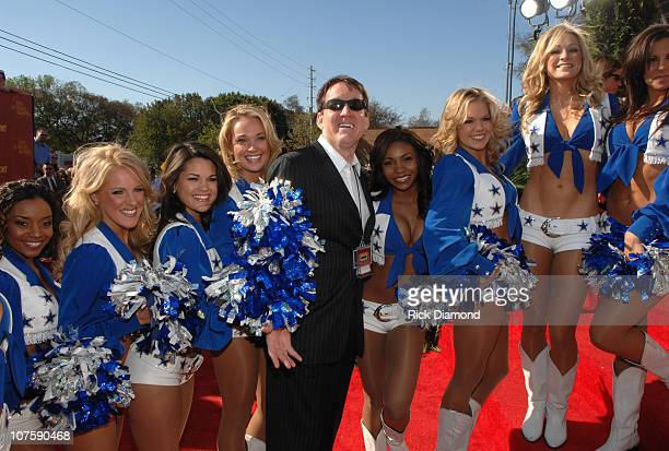 Dallas Cowboys Cheerleaders and Brian Philips Executive Vice President and General Manager of CMT