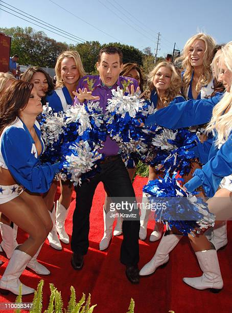 Dallas Cowboys Cheerleaders and Ross Mathews