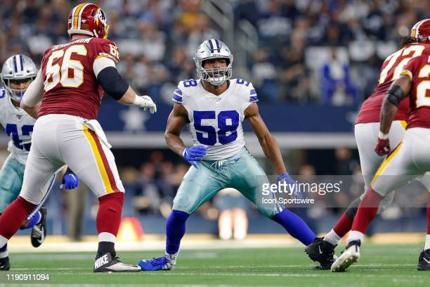 Dallas Cowboys Defensive End Robert Quinn drops back in coverage during the NFC East game between the Dallas Cowboys and Washington Redskins on...