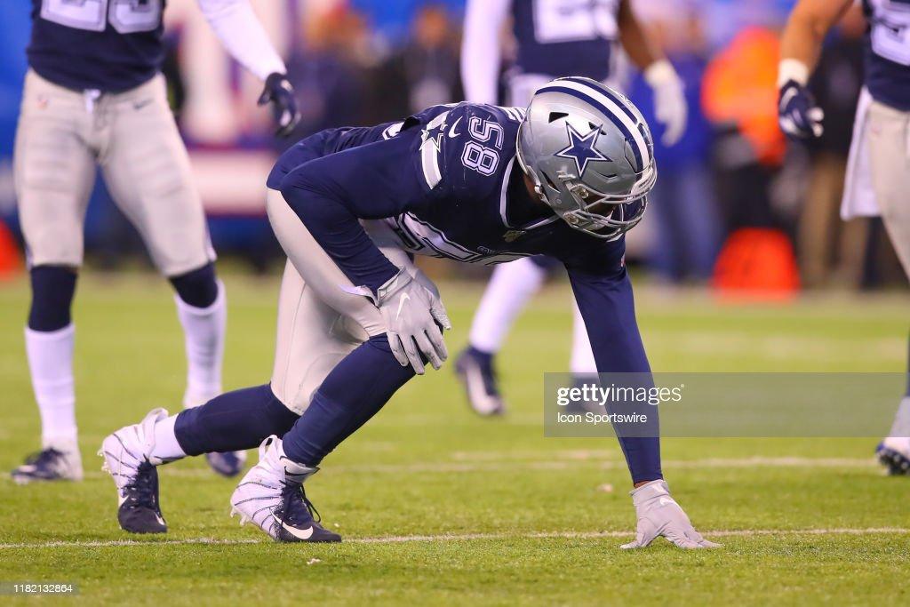 NFL: NOV 04 Cowboys at Giants : News Photo