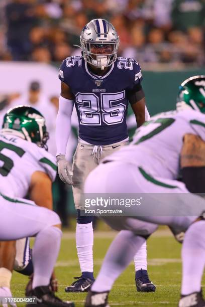 Dallas Cowboys free safety Xavier Woods during the National Football League game between the New York Jets and the Dallas Cowboys on October 13, 2019...