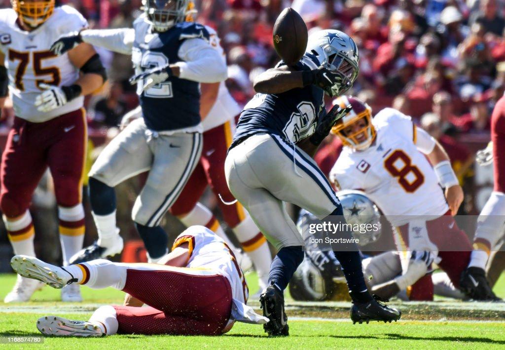 NFL: SEP 15 Cowboys at Redskins : News Photo