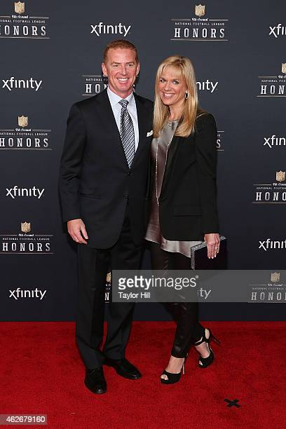 Dallas Cowboys head coach Jason Garrett attends the 2015 NFL Honors at Phoenix Convention Center on January 31 2015 in Phoenix Arizona