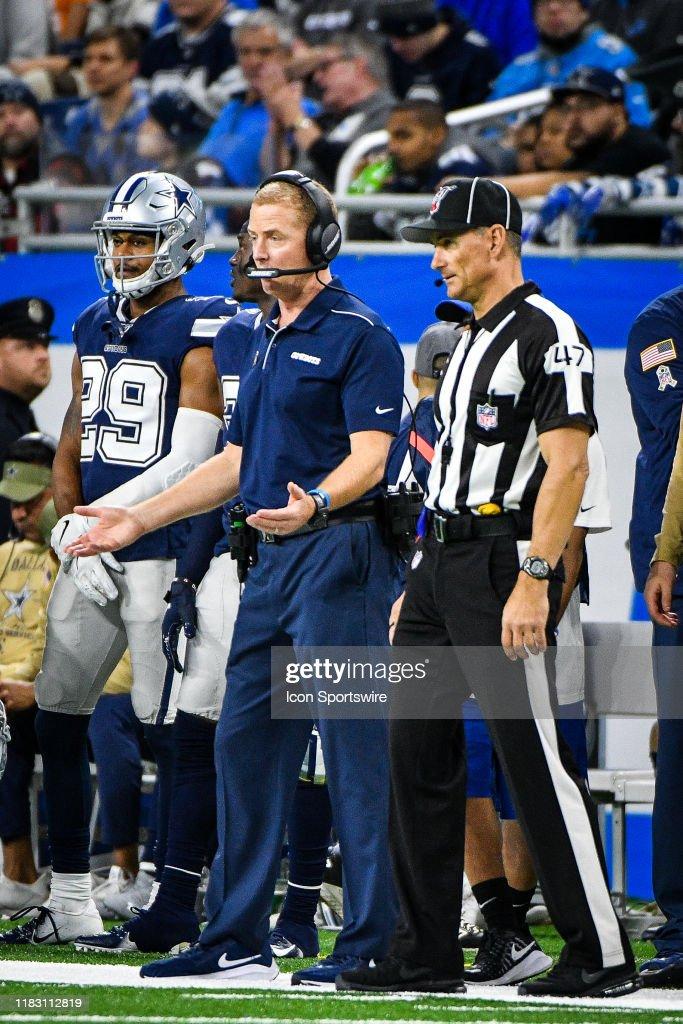 NFL: NOV 17 Cowboys at Lions : News Photo