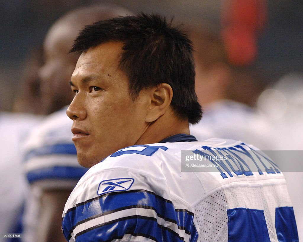 new styles 11644 63058 Dallas Cowboys linebacker Dat Nguyen leads the defense ...