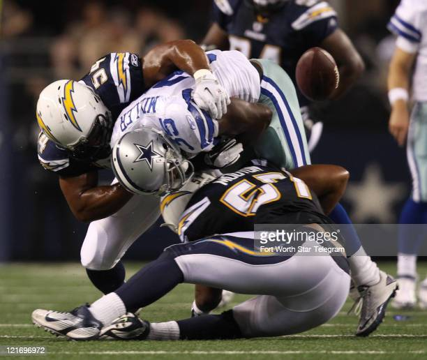 San Diego Chargers Dallas Cowboys: Jonas Mouton Stock Photos And Pictures