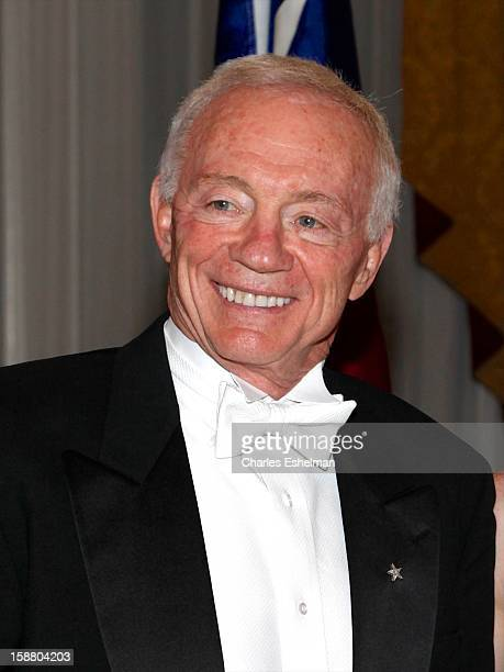 Dallas Cowboys owner Jerry Jones attends the 58th International Debutante Ball at The WaldorfAstoriaon December 29 2012 in New York City