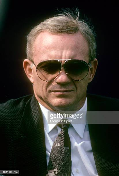 CIRCA 1990 Dallas Cowboys Owner Jerry Jones in this portrait on the field circa 1990 before an NFL football game Jones has owned the Cowboys from...