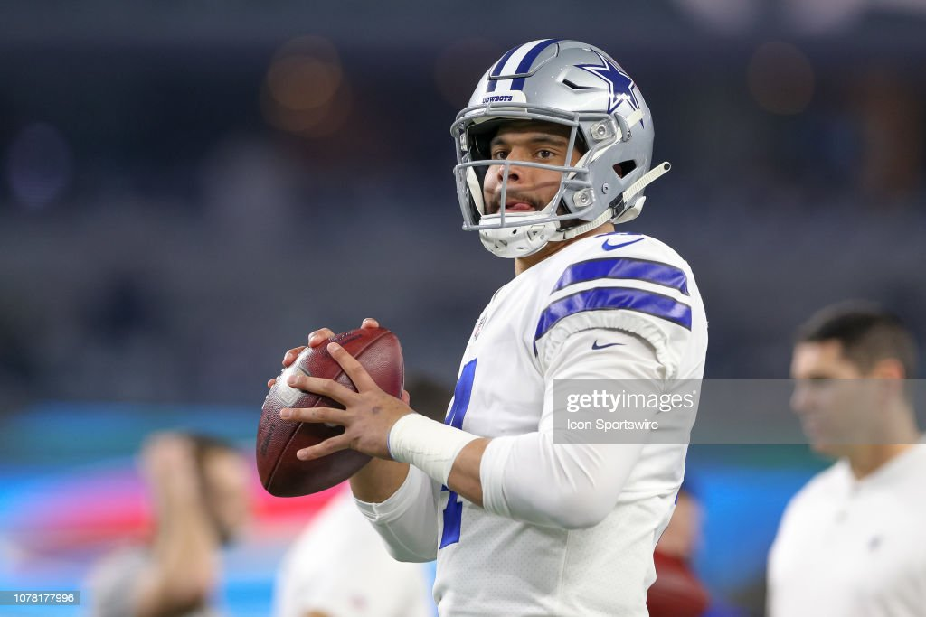 NFL: JAN 05 NFC Wild Card - Seahawks at Cowboys : News Photo