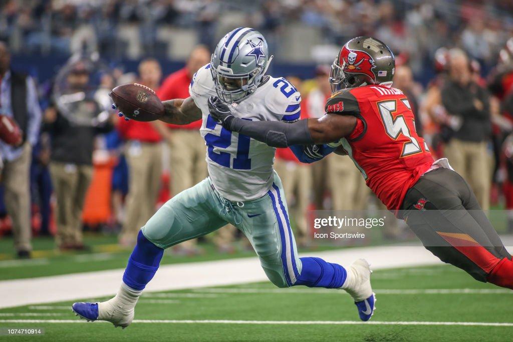 NFL: DEC 23 Buccaneers at Cowboys : News Photo