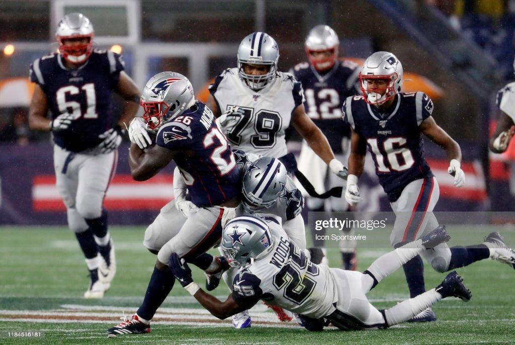 NFL: NOV 24 Cowboys at Patriots : News Photo
