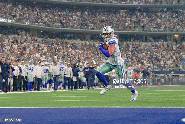Dallas Cowboys Tight End Jason Witten catches a touchdown pass during the game between the New York Giants and the Dallas Cowboys on September 8 2019...