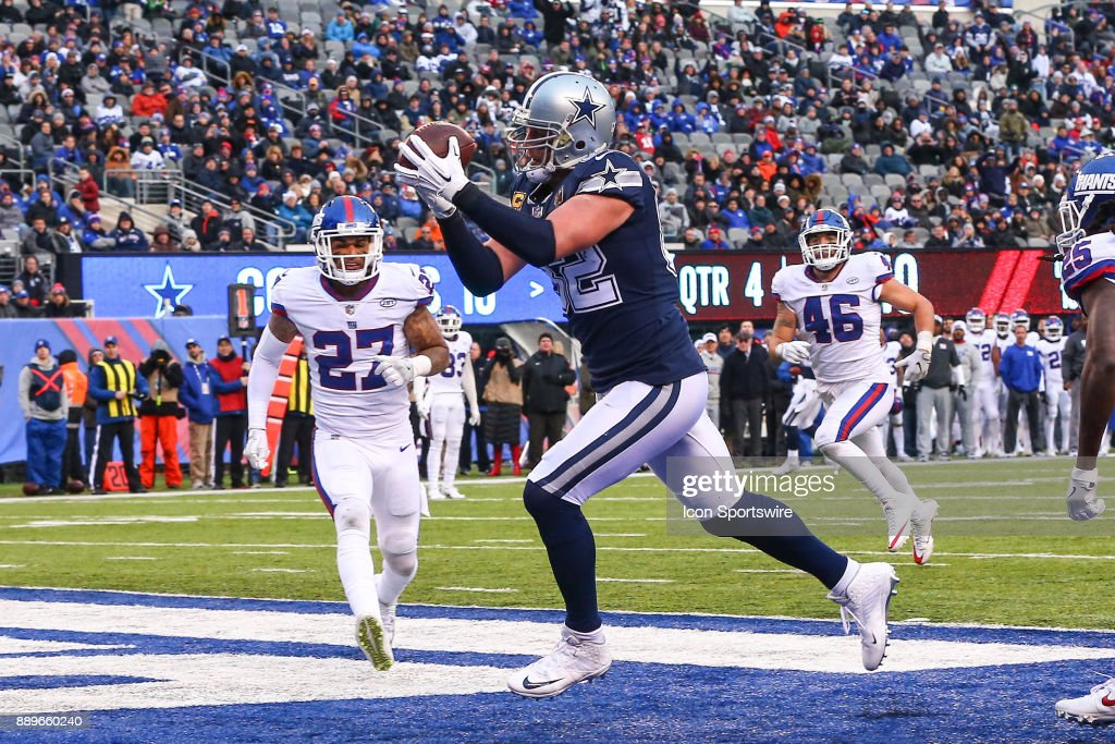 NFL: DEC 10 Cowboys at Giants : News Photo