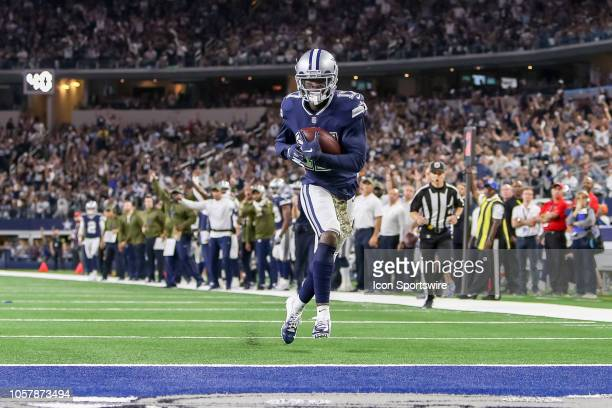 Dallas Cowboys wide receiver Allen Hurns catches a touchdown pass late in the second quarter of the game between the Tennessee Titans and Dallas...