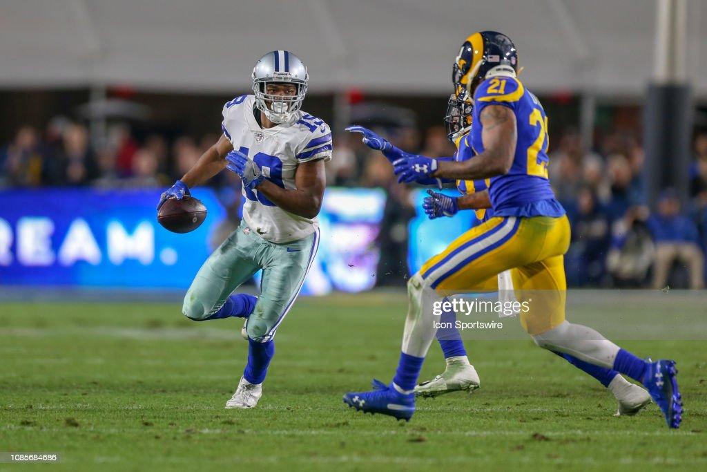 NFL: JAN 12 NFC Divisional Round - Cowboys at Rams : News Photo
