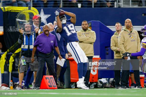 Dallas Cowboys Wide Receiver Amari Cooper makes a catch for a first down during the game between the Minnesota Vikings and Dallas Cowboys on November...