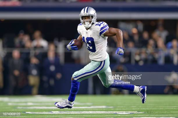 Dallas Cowboys Wide Receiver Amari Cooper makes a reception during the game between the Philadelphia Eagles and Dallas Cowboys on December 9 2018 at...