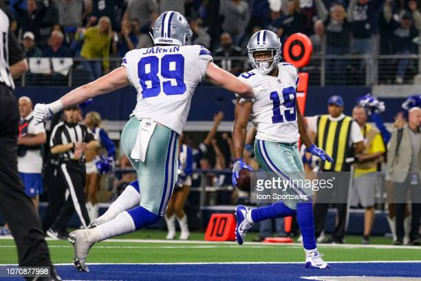 Dallas Cowboys Wide Receiver Amari Cooper makes the game winning touchdown reception during overtime of the game between the Philadelphia Eagles and...