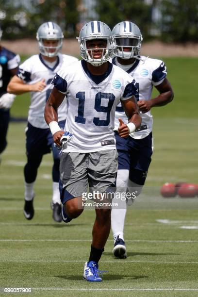 Dallas Cowboys Wide Receiver Brice Butler during Dallas Cowboys minicamp on June 14, 2017 at The Star in Frisco, TX.