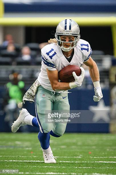 Dallas Cowboys Wide Receiver Cole Beasley [18238] during the NFL football game between the Arizona Cardinals and the Dallas Cowboys at AT&T Stadium...