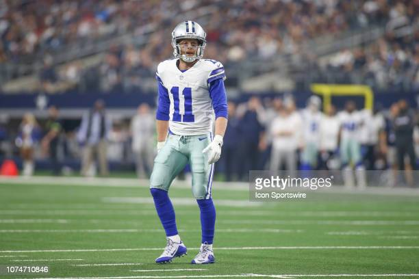 Dallas Cowboys Wide Receiver Cole Beasley lines up during the game between the Tampa Bay Buccaneers and Dallas Cowboys on December 23 2018 at ATT...