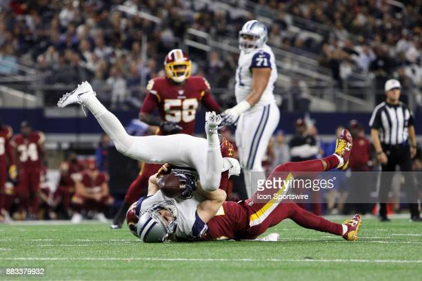 Dallas Cowboys wide receiver Cole Beasley makes a reception during the Thursday Night Football game between the Washington Redskins and the Dallas...