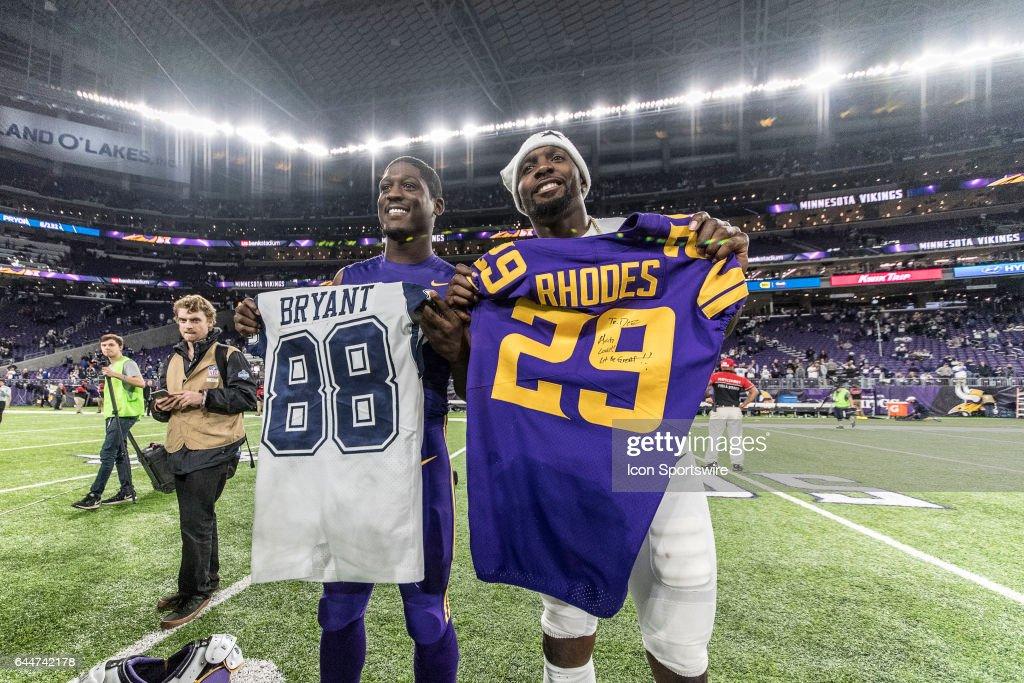 Dallas Cowboys Wide Receiver Dez Bryant Exchanges His Jersey