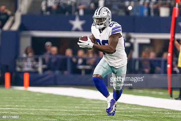 Dallas Cowboys wide receiver Dez Bryant makes a reception during the NFC Divisional Playoff game between the Dallas Cowboys and Green Bay Packers on...