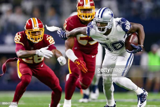 Dallas Cowboys wide receiver Dez Bryant makes a reception during the Thursday Night Football game between the Washington Redskins and the Dallas...