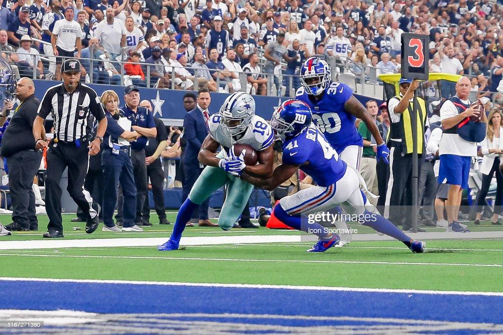 NFL: SEP 08 Giants at Cowboys : News Photo