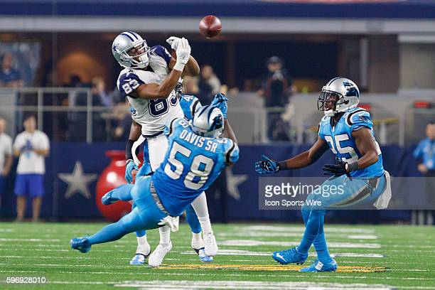 Dallas Cowboys Wide Receiver Terrance Williams [19021] is defended by Carolina Panthers Linebacker Thomas Davis [7767] during the NFL Thanksgiving...