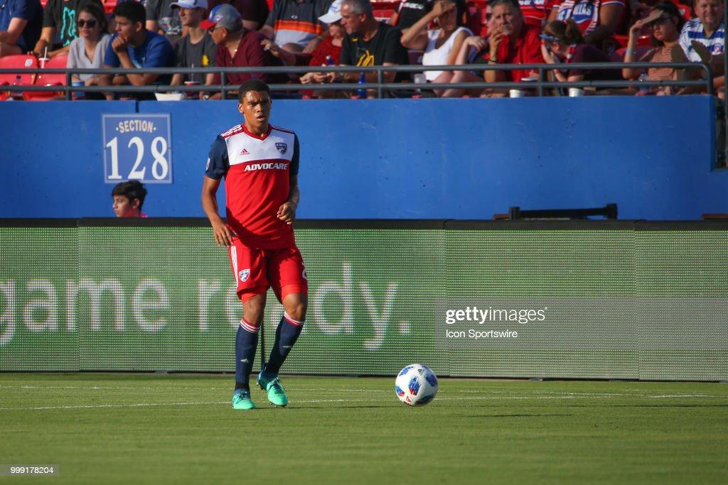 SOCCER: JUL 14 MLS - Chicago Fire at FC Dallas : News Photo