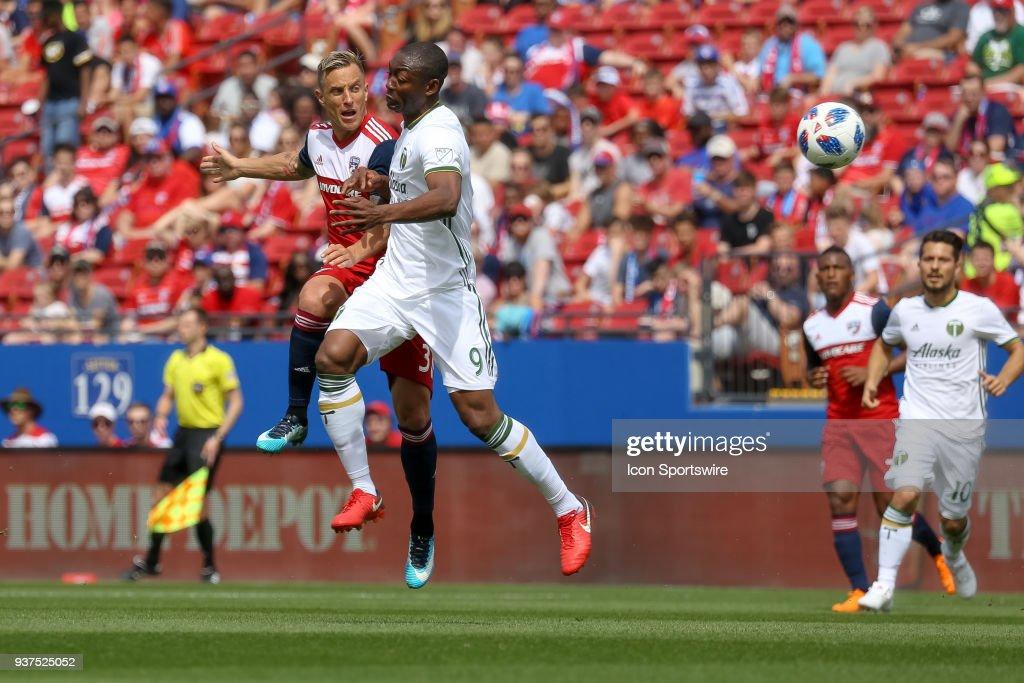 SOCCER: MAR 24 MLS - Portland Timbers at FC Dallas : News Photo