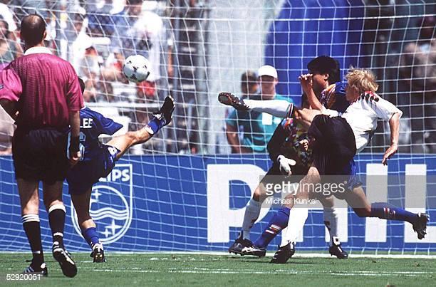 CUP 1994 Dallas DEUTSCHLAND KOREA 32 10 durch Juergen KLINSMANN/GER