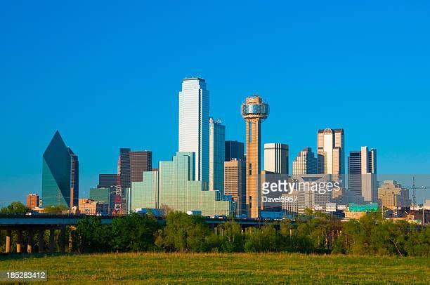 Panorama du centre-ville de Dallas