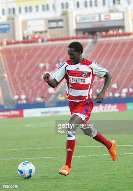 Dallas forward Abdus Ibrahim during a game between FC Dallas and the Chicago Fire September 20, 2007 at Pizza Hut Park in Frisco, Texas.