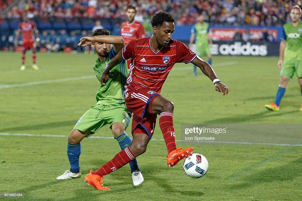 SOCCER: NOV 06 MLS - Conference Semifinal - Leg 2 - Sounders at FC Dallas : News Photo