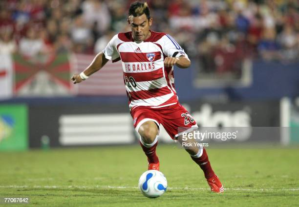Dallas forward Carlos Ruiz during a game between FC Dallas and the Chicago Fire September 20, 2007 at Pizza Hut Park in Frisco, Texas.