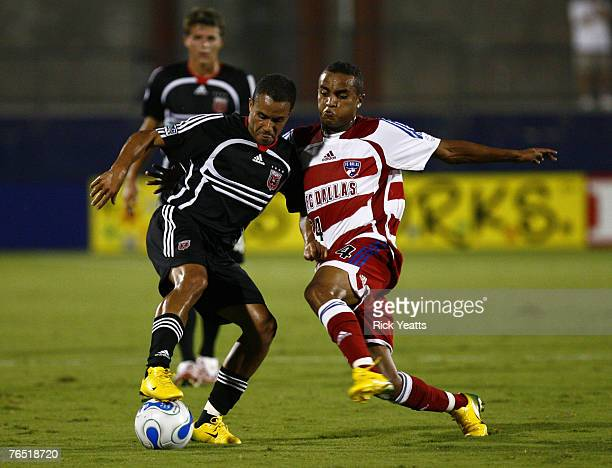 Dallas forward Ricardinho tries for a steal during the FC Dallas game against D.C. United on September 1, 2007 at Pizza Hut Park in Frisco, Texas.