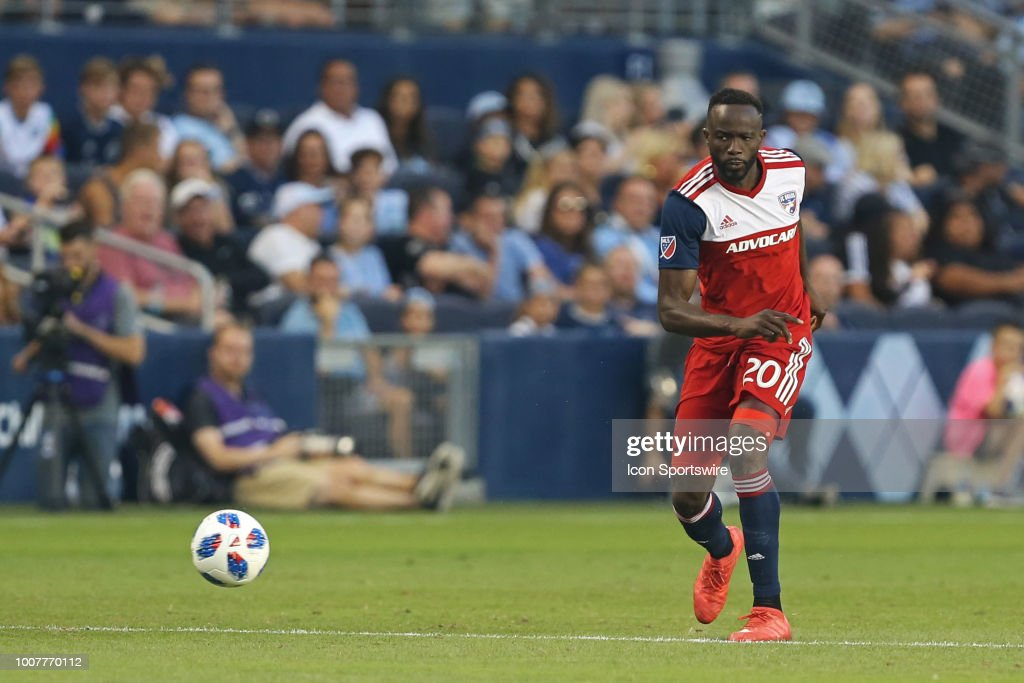SOCCER: JUL 28 MLS - FC Dallas at Sporting Kansas City : News Photo
