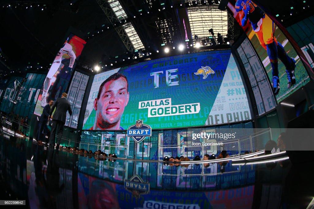 NFL: APR 27 2018 NFL Draft : News Photo