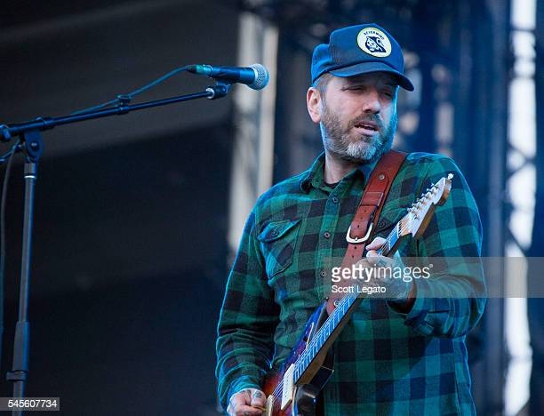 Dallas Green of City and Colour performs at Festival D'ete De Quebec on July 7 2016 in Quebec City Canada